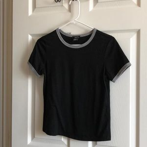 Ringer Tee (black/gray)